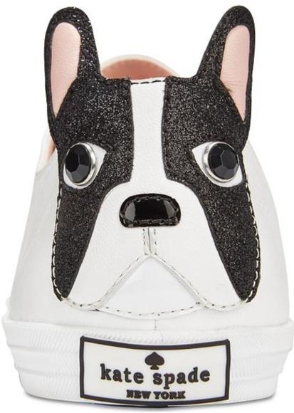 a7ca13e641949 KATE Spade New York Lucie BullDog Sneaker shoes